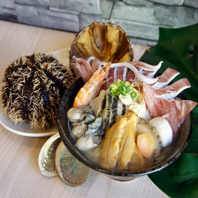 海城上湯鮮魚粥飯麵擔